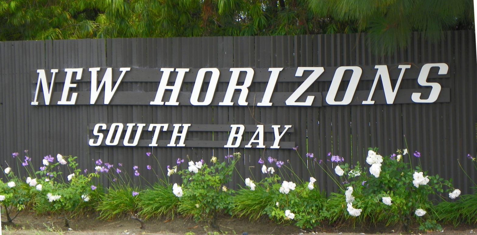 New Horizons sign