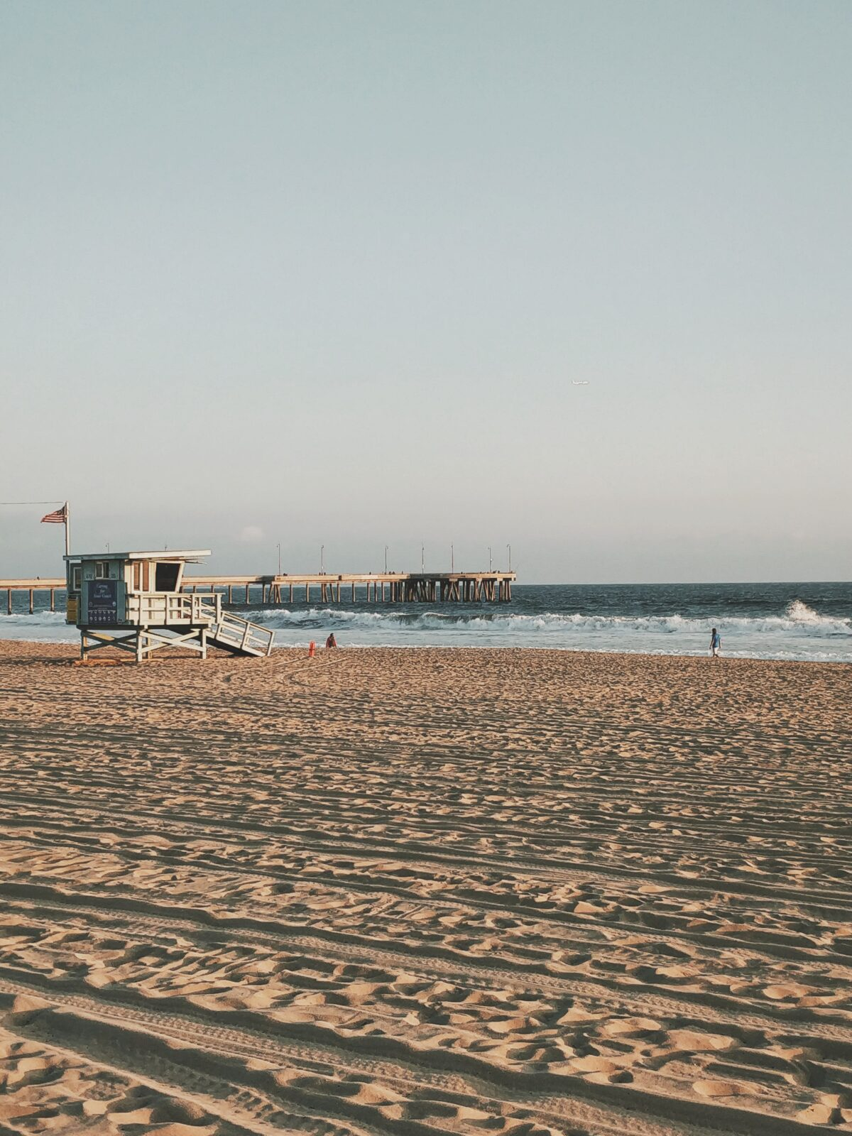 California Beach Pier
